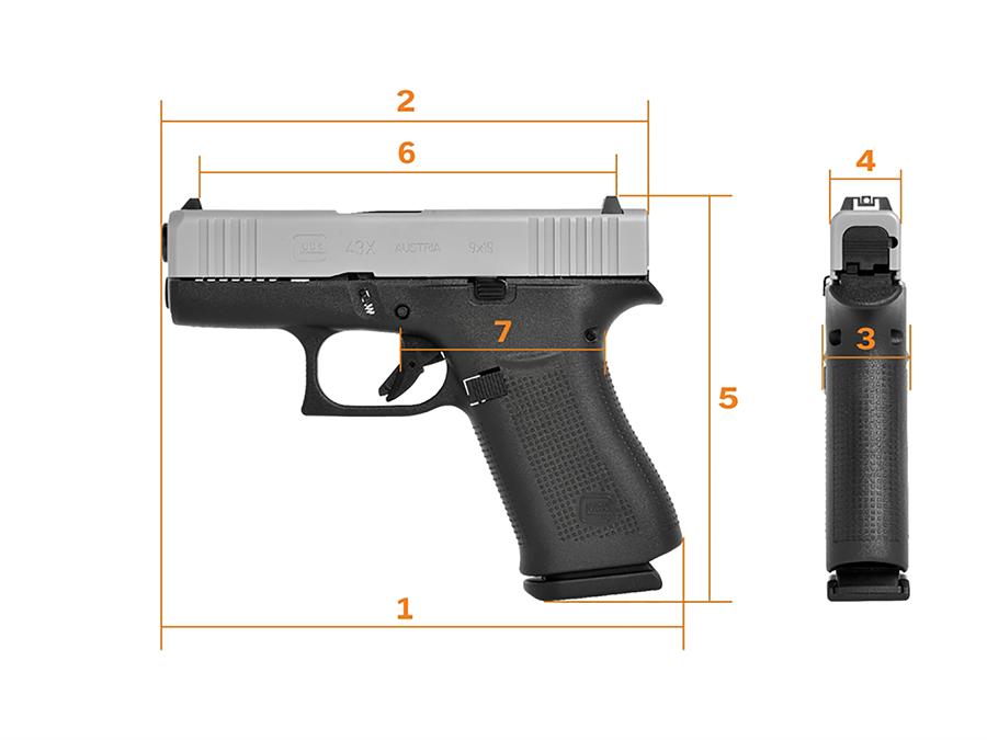 Glock 34X Magazin 10-schüssig 9mm Luger